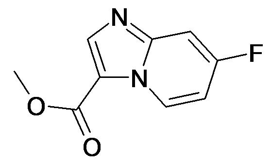7-Fluoro-imidazo[1,2-a]pyridine-3-carboxylic acid methyl ester