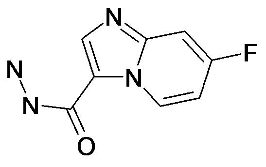 7-Fluoro-imidazo[1,2-a]pyridine-3-carboxylic acid hydrazide