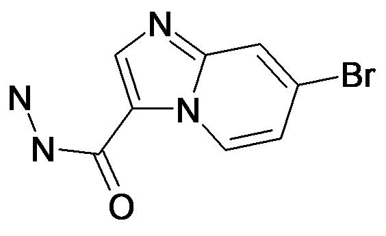 7-Bromo-imidazo[1,2-a]pyridine-3-carboxylic acid hydrazide