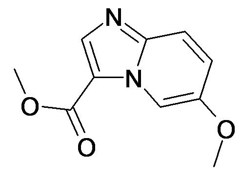 6-Methoxy-imidazo[1,2-a]pyridine-3-carboxylic acid methyl ester