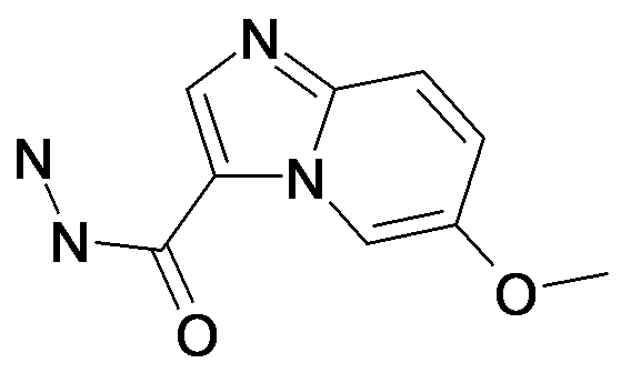 6-Methoxy-imidazo[1,2-a]pyridine-3-carboxylic acid hydrazide