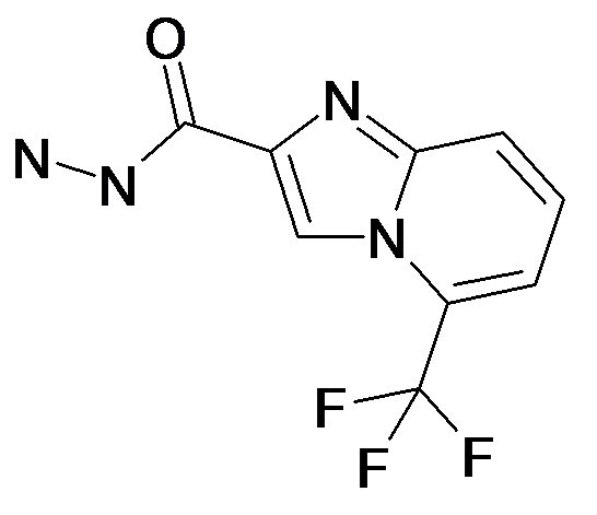 5-Trifluoromethyl-imidazo[1,2-a]pyridine-2-carboxylic acid hydrazide