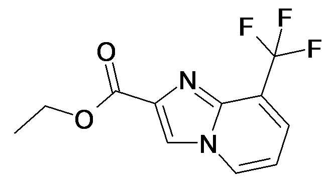 8-Trifluoromethyl-imidazo[1,2-a]pyridine-2-carboxylic acid ethyl ester