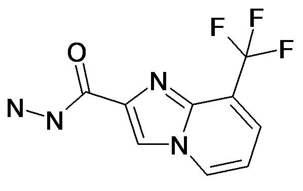 8-Trifluoromethyl-imidazo[1,2-a]pyridine-2-carboxylic acid hydrazide