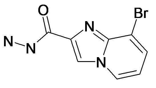 8-Bromo-imidazo[1,2-a]pyridine-2-carboxylic acid hydrazide