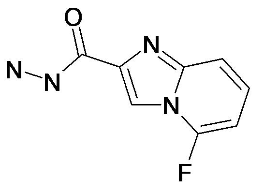 5-Fluoro-imidazo[1,2-a]pyridine-2-carboxylic acid hydrazide