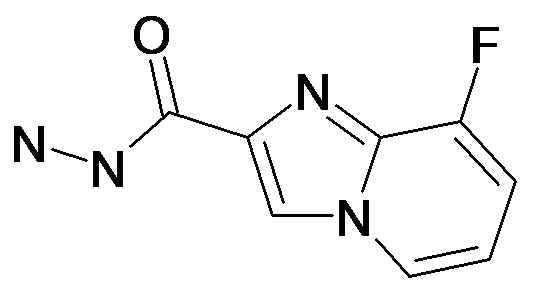 8-Fluoro-imidazo[1,2-a]pyridine-2-carboxylic acid hydrazide