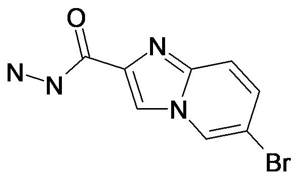 6-Bromo-imidazo[1,2-a]pyridine-2-carboxylic acid hydrazide