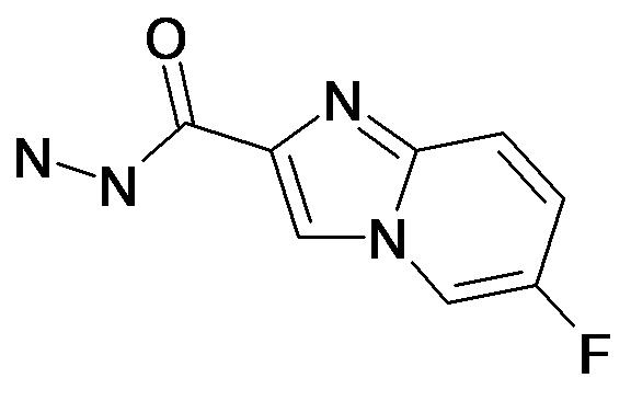 6-Fluoro-imidazo[1,2-a]pyridine-2-carboxylic acid hydrazide