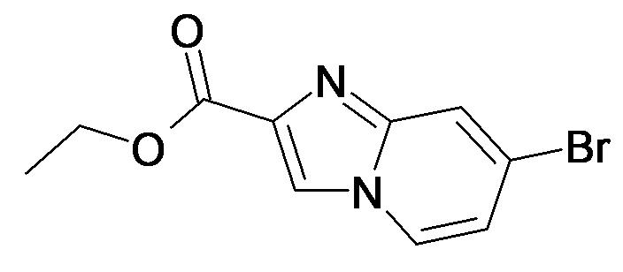 7-Bromo-imidazo[1,2-a]pyridine-2-carboxylic acid ethyl ester