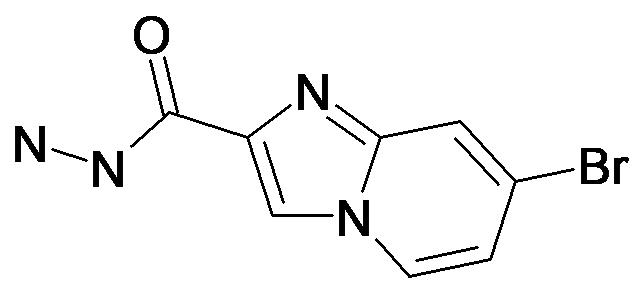 7-Bromo-imidazo[1,2-a]pyridine-2-carboxylic acid hydrazide