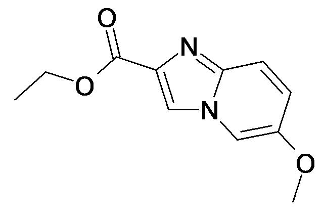 6-Methoxy-imidazo[1,2-a]pyridine-2-carboxylic acid ethyl ester