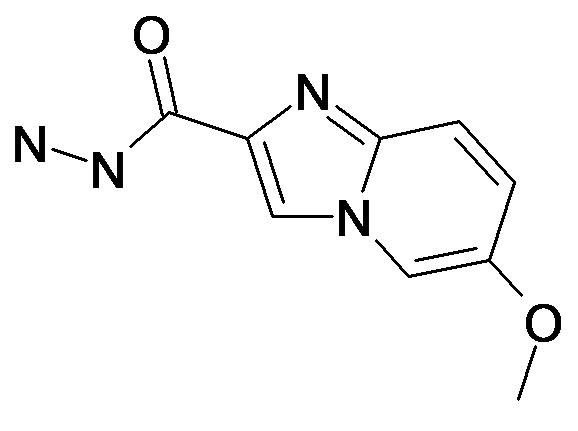 6-Methoxy-imidazo[1,2-a]pyridine-2-carboxylic acid hydrazide