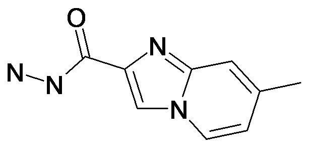 7-Methyl-imidazo[1,2-a]pyridine-2-carboxylic acid hydrazide