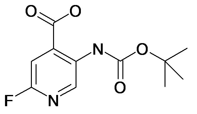 5-tert-Butoxycarbonylamino-2-fluoro-isonicotinic acid