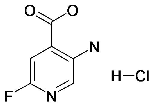 5-Amino-2-fluoro-isonicotinic acid; hydrochloride