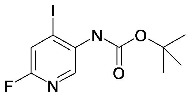 (6-Fluoro-4-iodo-pyridin-3-yl)-carbamic acid tert-butyl ester