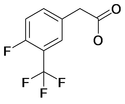 (4-Fluoro-3-trifluoromethyl-phenyl)-acetic acid