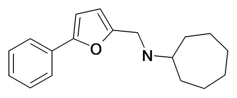 Cycloheptyl-(5-phenyl-furan-2-ylmethyl)-amine