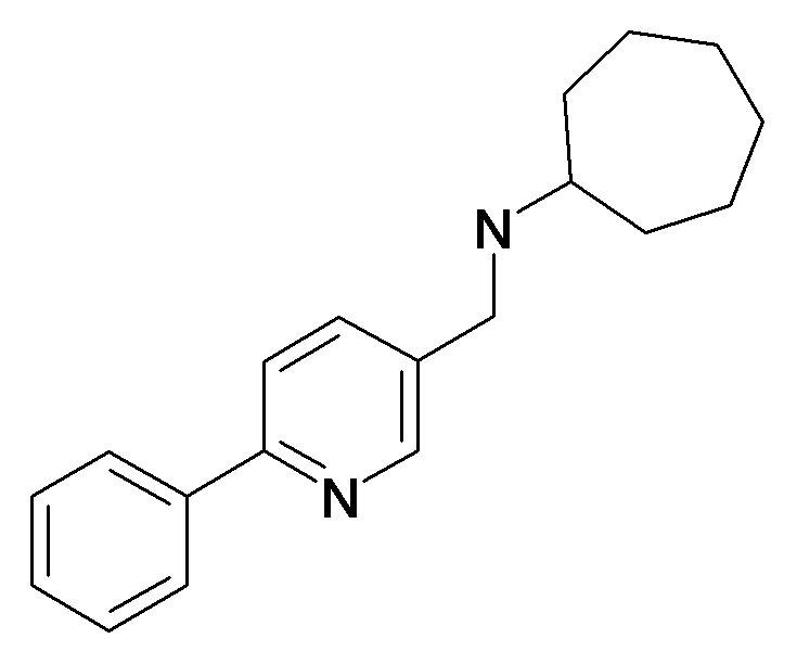 Cycloheptyl-(6-phenyl-pyridin-3-ylmethyl)-amine