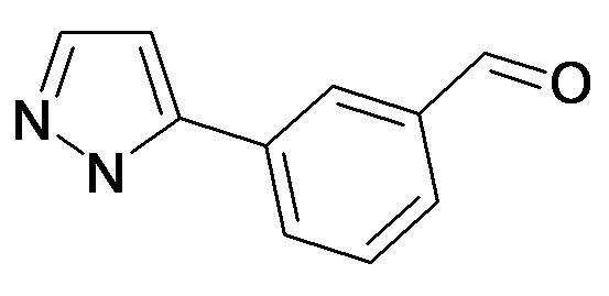 3-(2H-Pyrazol-3-yl)-benzaldehyde