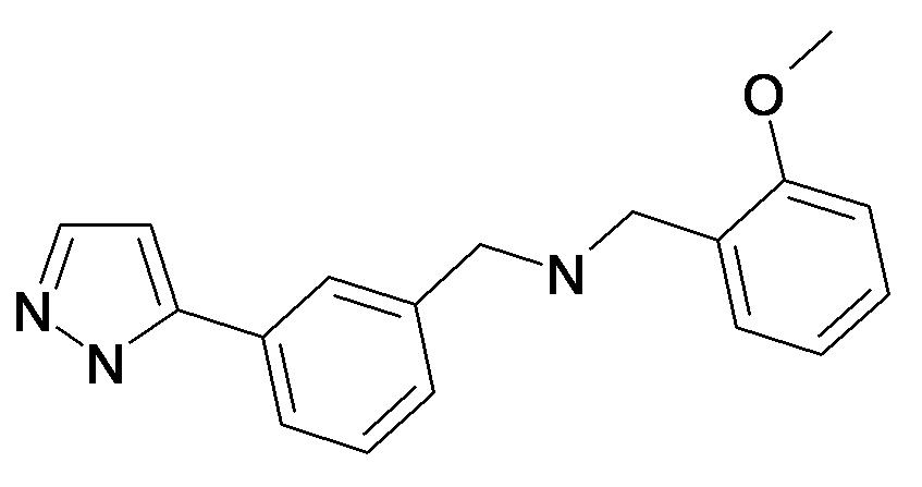 (2-Methoxy-benzyl)-[3-(2H-pyrazol-3-yl)-benzyl]-amine