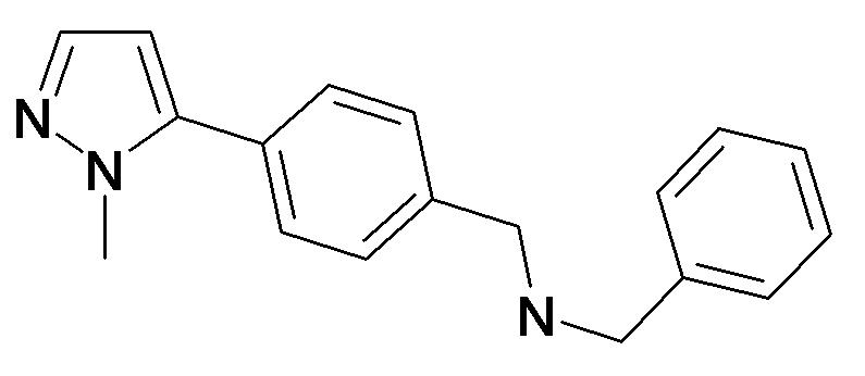 Benzyl-[4-(2-methyl-2H-pyrazol-3-yl)-benzyl]-amine