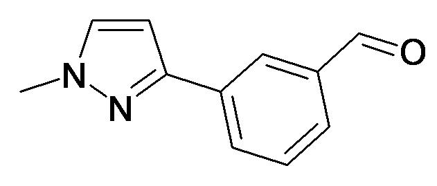 3-(1-Methyl-1H-pyrazol-3-yl)-benzaldehyde