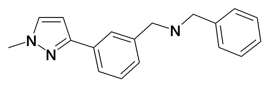 Benzyl-[3-(1-methyl-1H-pyrazol-3-yl)-benzyl]-amine