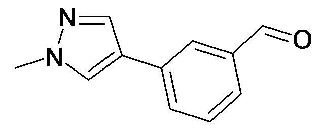 3-(1-Methyl-1H-pyrazol-4-yl)-benzaldehyde