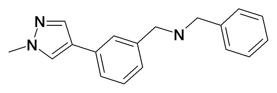 Benzyl-[3-(1-methyl-1H-pyrazol-4-yl)-benzyl]-amine