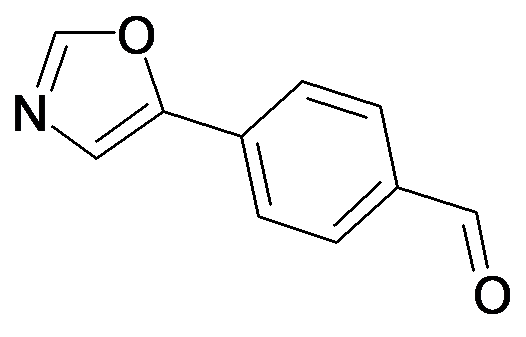 4-Oxazol-5-yl-benzaldehyde