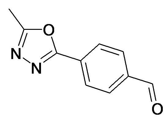 4-(5-Methyl-[1,3,4]oxadiazol-2-yl)-benzaldehyde