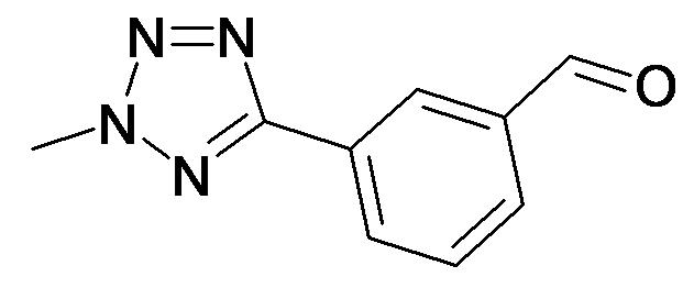 3-(2-Methyl-2H-tetrazol-5-yl)-benzaldehyde
