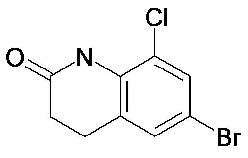 6-Bromo-8-chloro-3,4-dihydro-1H-quinolin-2-one