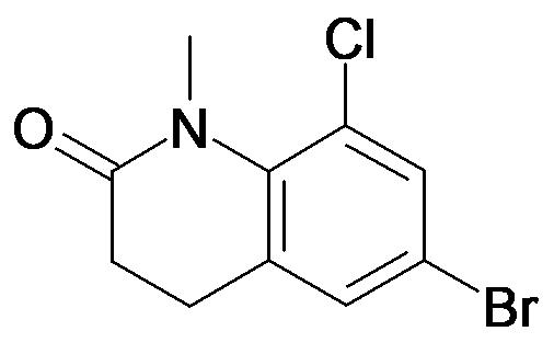 6-Bromo-8-chloro-1-methyl-3,4-dihydro-1H-quinolin-2-one