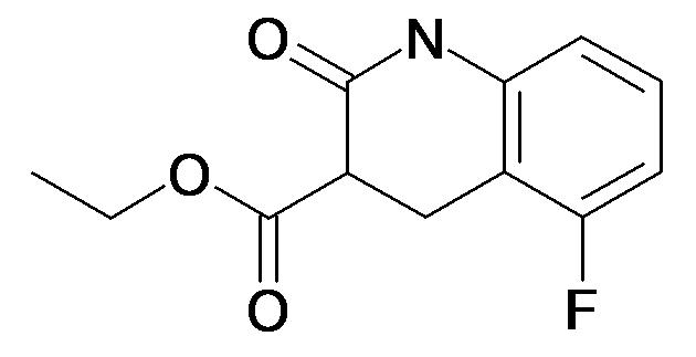 5-Fluoro-2-oxo-1,2,3,4-tetrahydro-quinoline-3-carboxylic acid ethyl ester