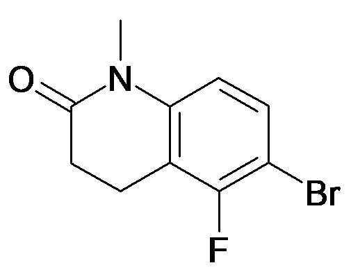 6-Bromo-5-fluoro-1-methyl-3,4-dihydro-1H-quinolin-2-one