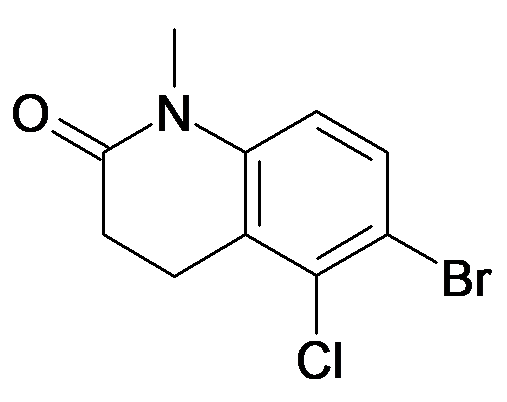 6-Bromo-5-chloro-1-methyl-3,4-dihydro-1H-quinolin-2-one