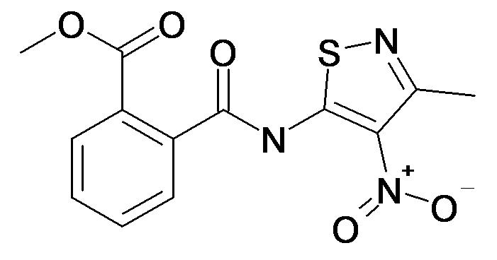 N-(3-Methyl-4-nitro-isothiazol-5-yl)-phthalamic acid methyl ester