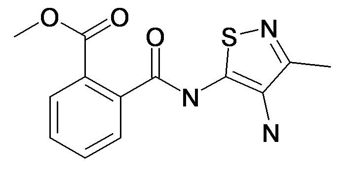 N-(4-Amino-3-methyl-isothiazol-5-yl)-phthalamic acid methyl ester