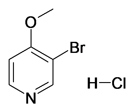 3-Bromo-4-methoxy-pyridine; hydrochloride