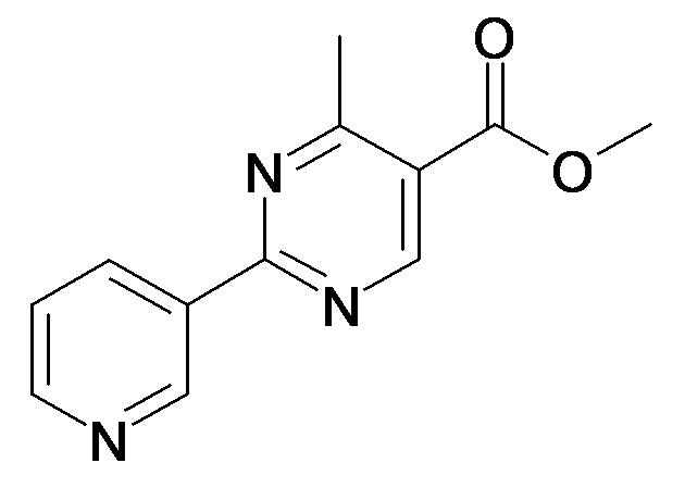 4-Methyl-2-pyridin-3-yl-pyrimidine-5-carboxylic acid methyl ester