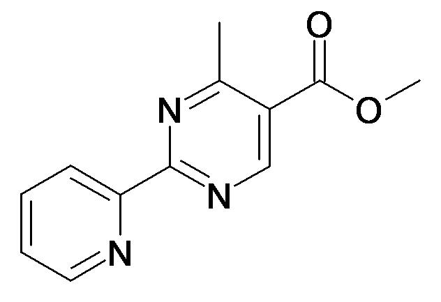 4-Methyl-2-pyridin-2-yl-pyrimidine-5-carboxylic acid methyl ester