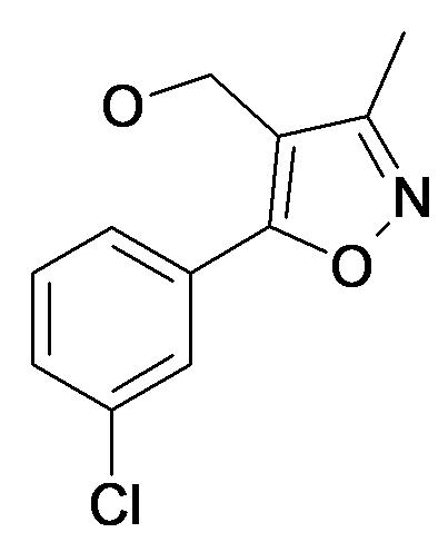 [5-(3-Chloro-phenyl)-3-methyl-isoxazol-4-yl]-methanol