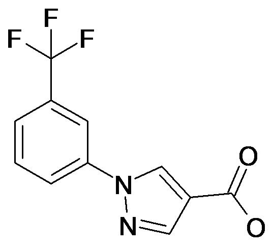 1-(3-Trifluoromethyl-phenyl)-1H-pyrazole-4-carboxylic acid