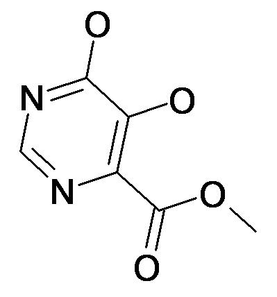 5,6-Dihydroxy-pyrimidine-4-carboxylic acid methyl ester