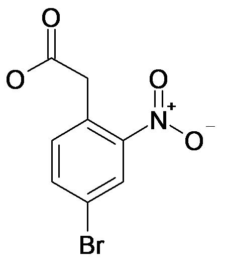 (4-Bromo-2-nitro-phenyl)-acetic acid
