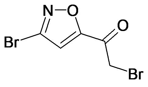 2-Bromo-1-(3-bromo-isoxazol-5-yl)-ethanone