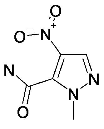2-Methyl-4-nitro-2H-pyrazole-3-carboxylic acid amide